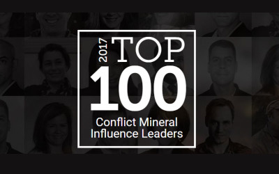 iTSCi lead ranked #9 in 2017 Top 100 Conflict Minerals Leaders