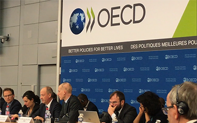iTSCi team plays a leading role at the annual OECD forum