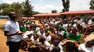 Mobilisation campaign against child labour in Rwanda