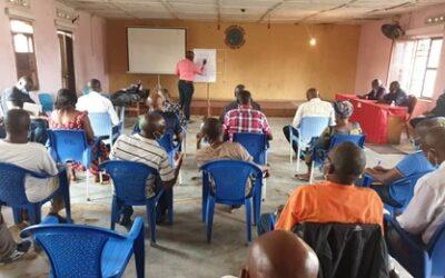 Training local stakeholders in Maniema